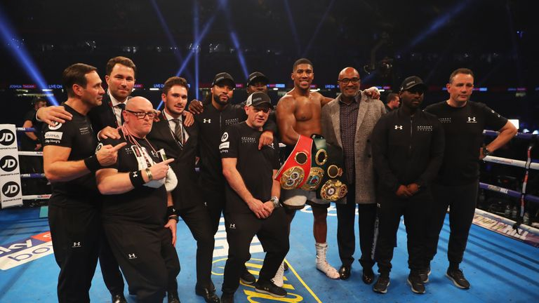 Anthony Joshua is fixed on his long-term strategy to rule the heavyweight division instead of who he'll fight next