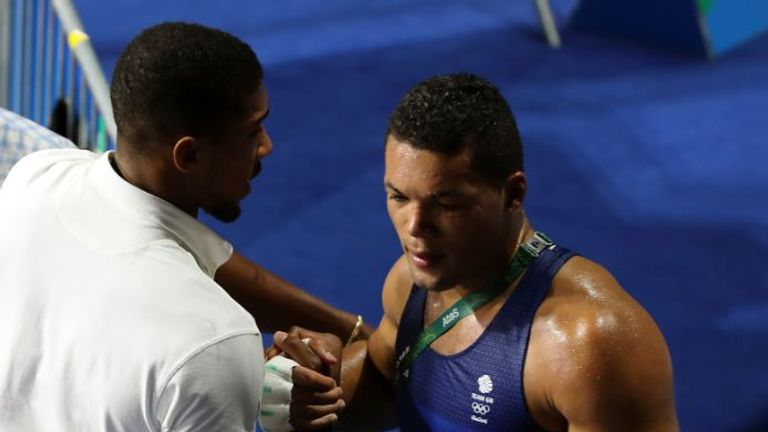 Anthony Joshua was in Rio to see Joe Joyce win Olympic silver