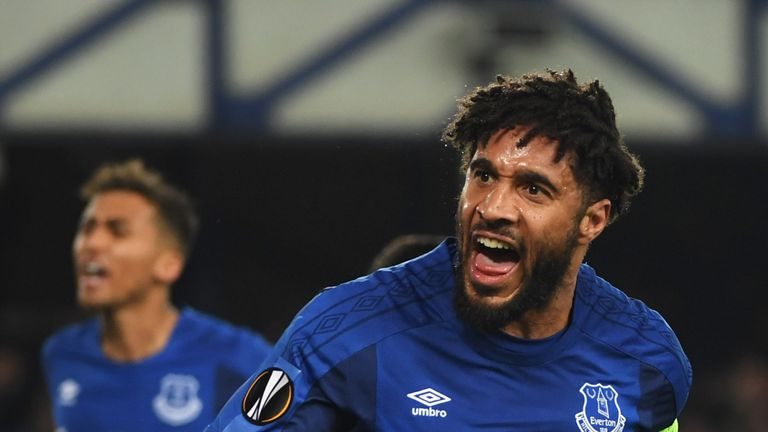 Ashley Williams scored Everton's only goal in last month's defeat to Lyon