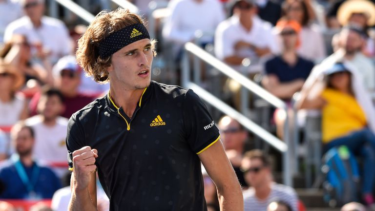 Alexander Zverev has won two Masters 1000 titles to help the German rise to world No 4