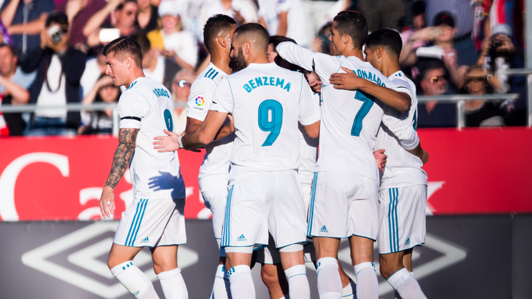 Isco gave Real Madrid the lead in Girona