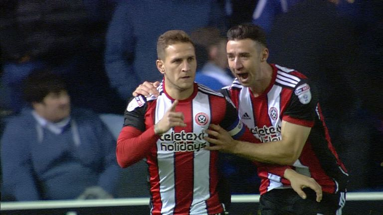 Sheffield United are top of the table