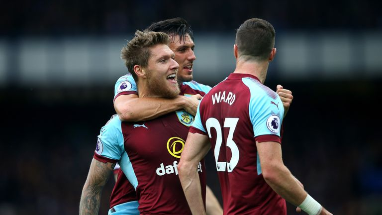 Burnley beat Everton 1-0 last time out in the Premier League