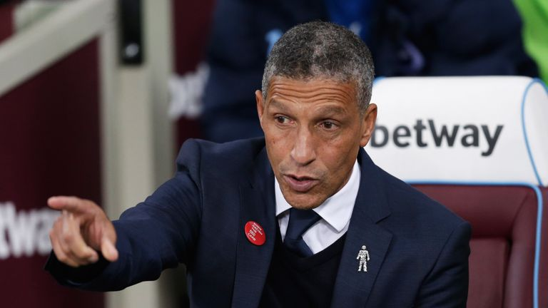 Brighton manager Chris Hughton is a big admirer of the job Dyche has done at Burnley