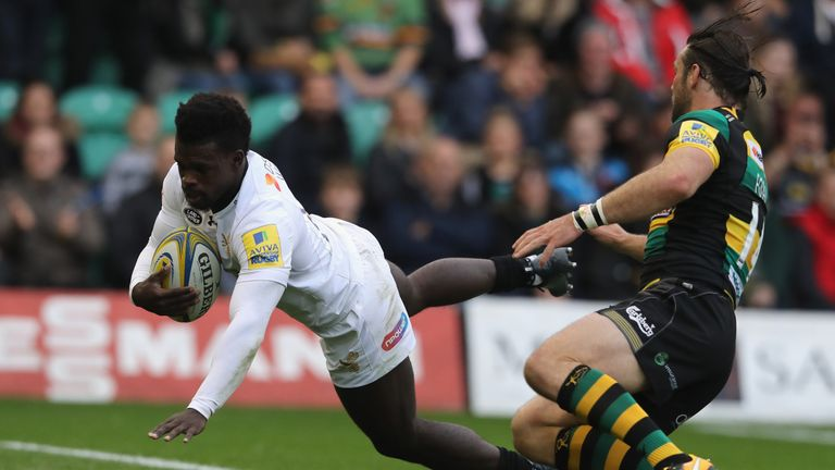 Wasps claimed a bonus-point win at Northampton on Saturday
