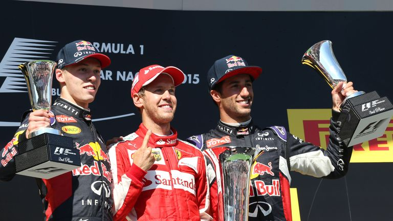 Daniil Kvyat's second-place finish at the 2015 Hungarian GP was his best in F1