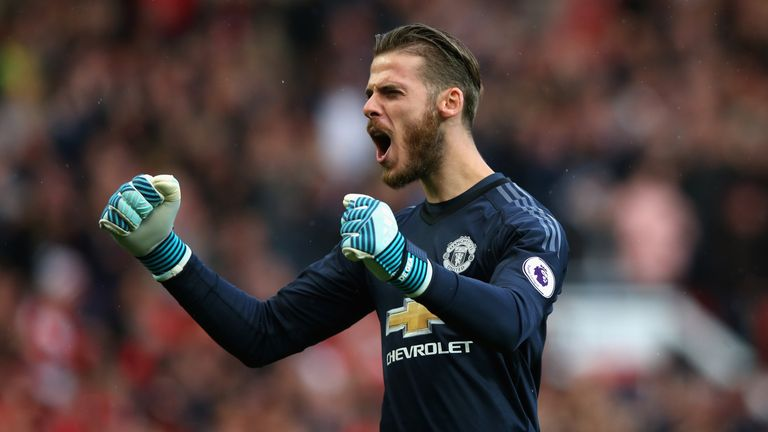 David de Gea impressed in Manchester United's draw with Liverpool