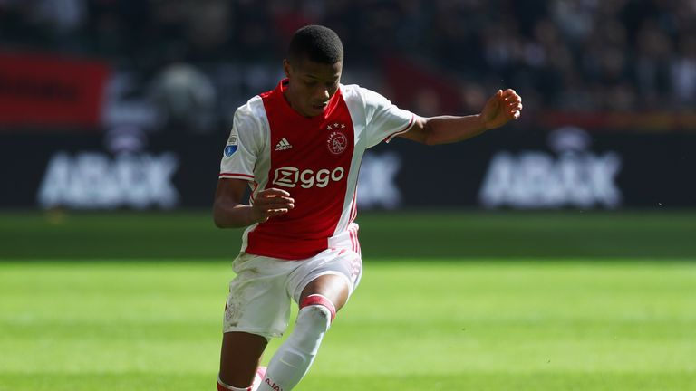 David Neres scored late on in Ajax's 3-1 win over Willem II