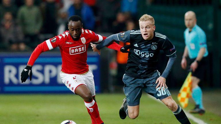 Ajax's Donny van de Beek
