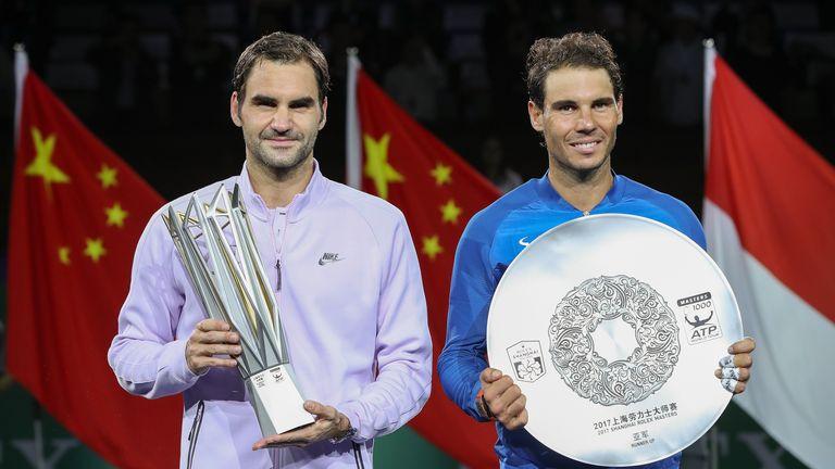 Roger Federer and Rafael Nadal have dominated men's tennis in 2017