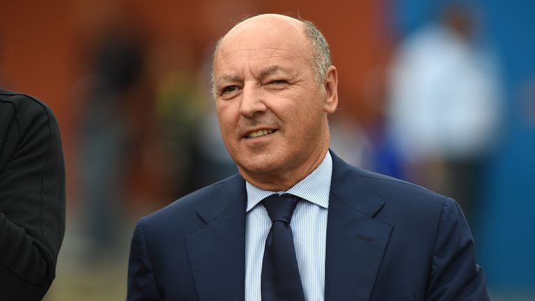 Juventus chief executive Beppe Marotta