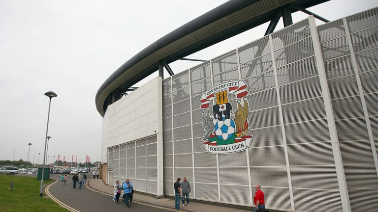 Coventry future in 'jeopardy' as dispute over Ricoh Arena continues | Football News |