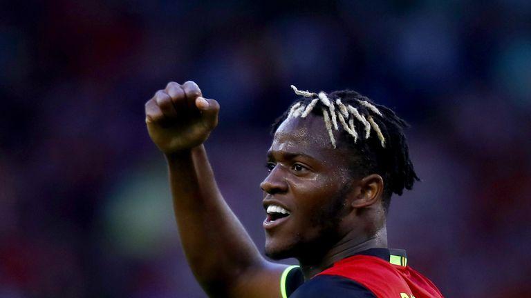 Michy Batshuayi scored as Belgium edged past Bosnia 4-3