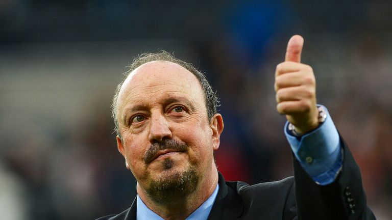 Benitez says Newcastle belong in the Premier League