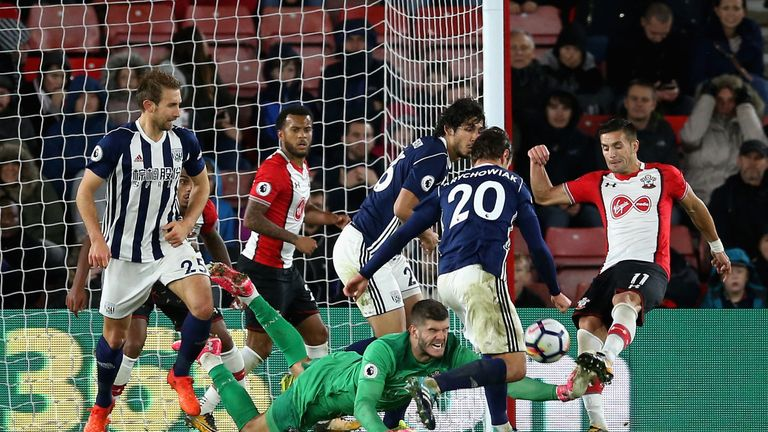 Fraser Forster's Southampton are struggling