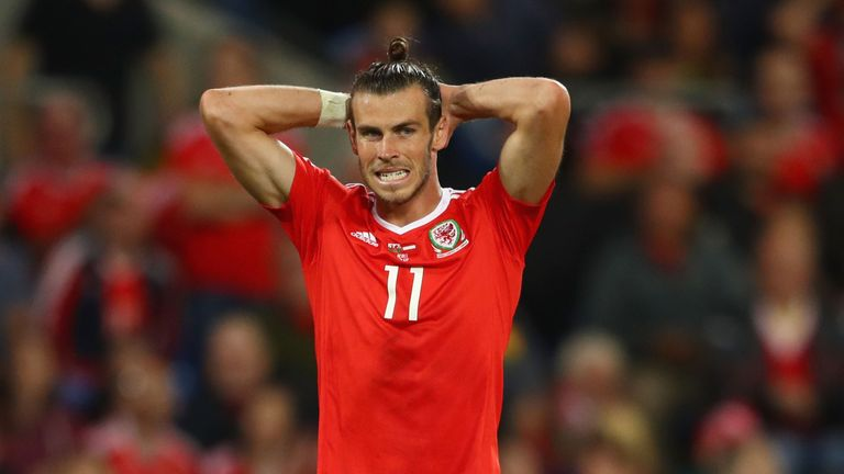 Gareth Bale will miss crucial games against Georgia and Republic of Ireland