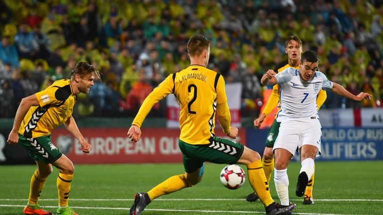 Harry Winks impressed for England in Vilnius