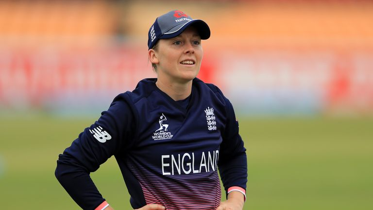 Heather Knight is confident of adding Ashes success to this summer's World Cup win
