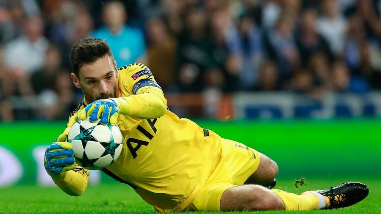 Hugo Lloris put in a man-of-the-match performance at the Bernabeu