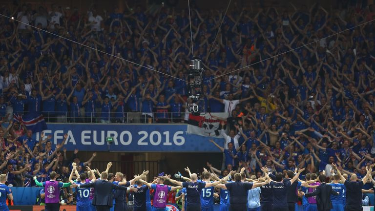 Lars Lagerback steered Iceland to a stunning victory over England at the 2016 European Championships