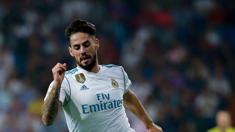 Isco, Real Madrid v Real Betis, September 2017