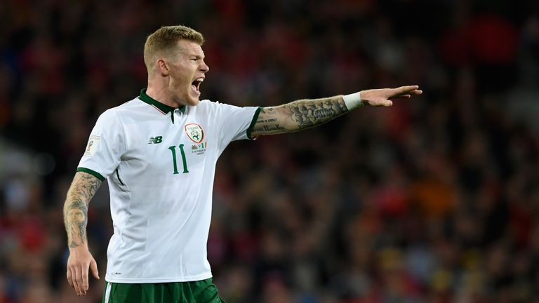 Republic of Ireland midfielder James McClean scored the crucial winner against Wales in World Cup
