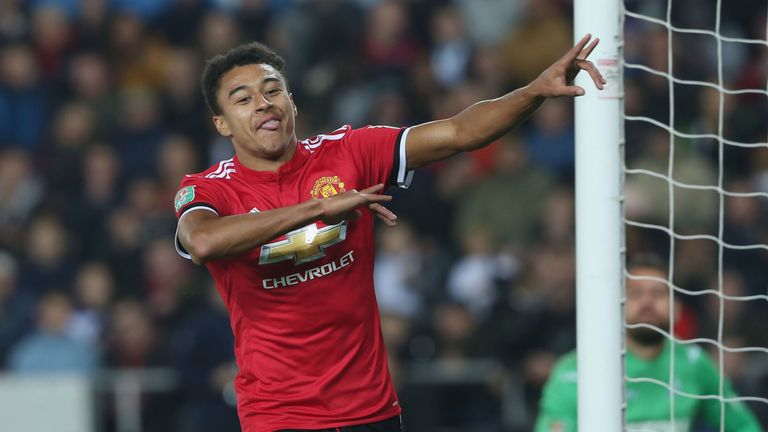 Jesse Lingard claims Manchester United have a never-give-up attitude