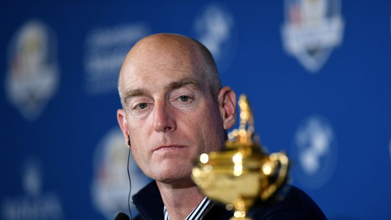 Furyk is hoping to become the first USA captain to win the Ryder Cup in Europe since 1993