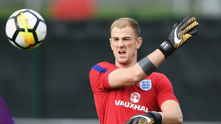 Joe Hart's England could secure a World Cup place with victory at Wembley