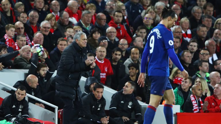 Jose Mourinho says his players should relish the atmosphere at Anfield