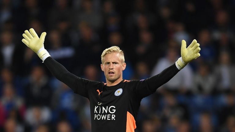 Kasper Schmeichel is an injury concern for Leicester