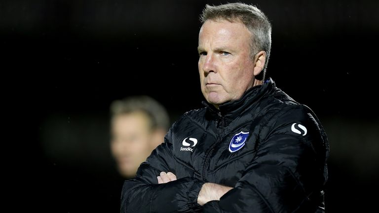 Portsmouth manager Kenny Jackett will has signed a two-year contract extension