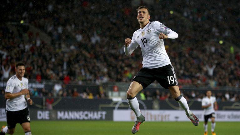 Leon Goretzka scored a fine backheel for Germany on Sunday