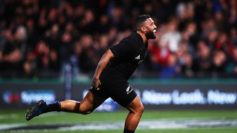 Lima Sopoaga has scored 47 points for New Zealand in his career to date