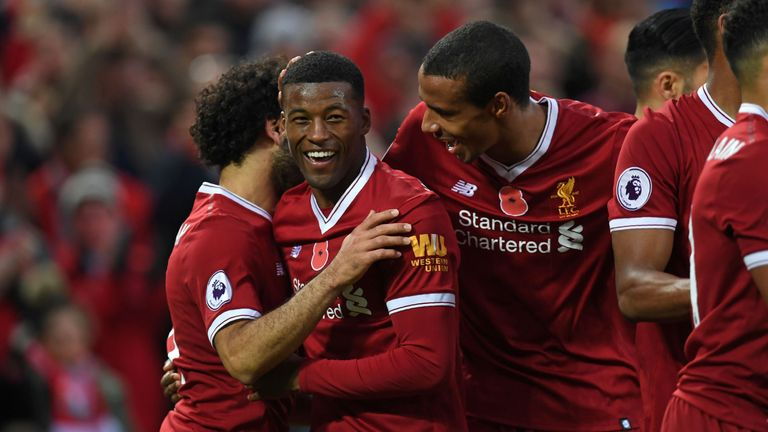 Wijnaldum will soon play along side his international team-mate Van Dijk