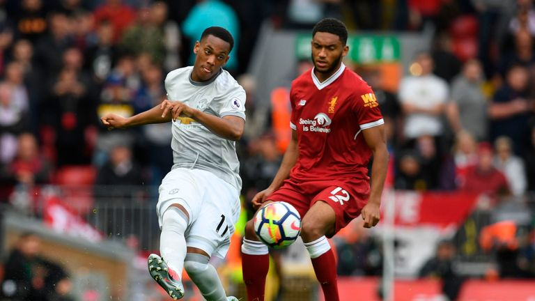 Joe Gomez has impressed playing for Liverpool in the Premier League