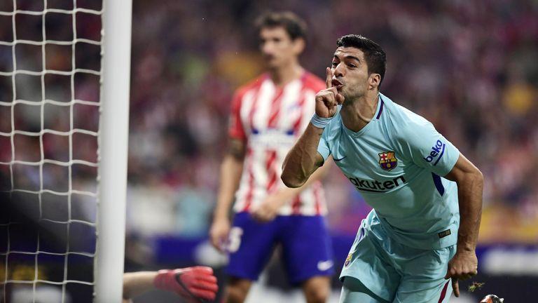 Luis Suarez's goalscoring form has also dropped this season