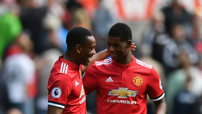 Martial has only started one of the last seven games