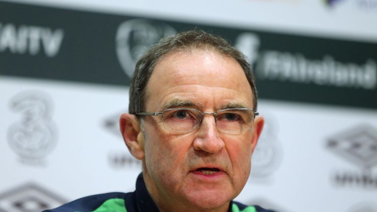 Republic of Ireland manager Martin O'Neill has named his squad for friendlies against France and USA