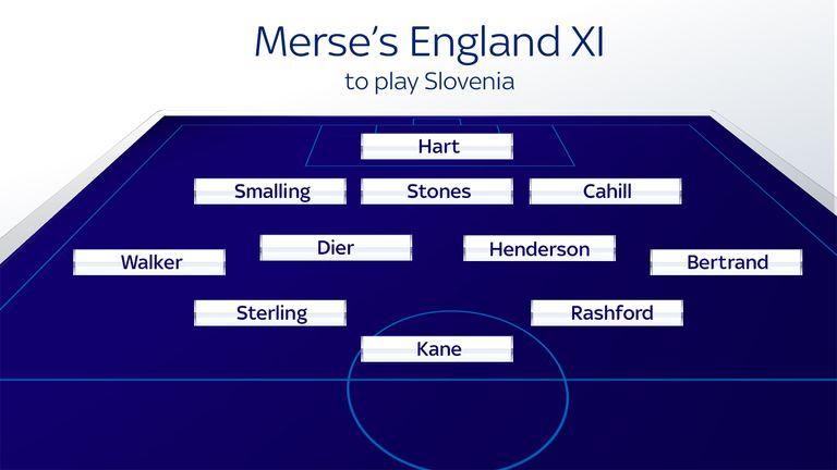 Merse's England XI to play Slovenia