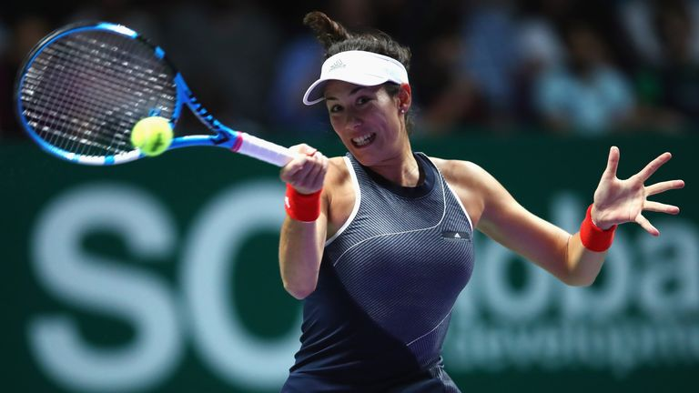 Muguruza is looking to rediscover her form of last summer