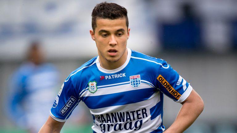 Mustafa Saymak scored for PEC Zwolle