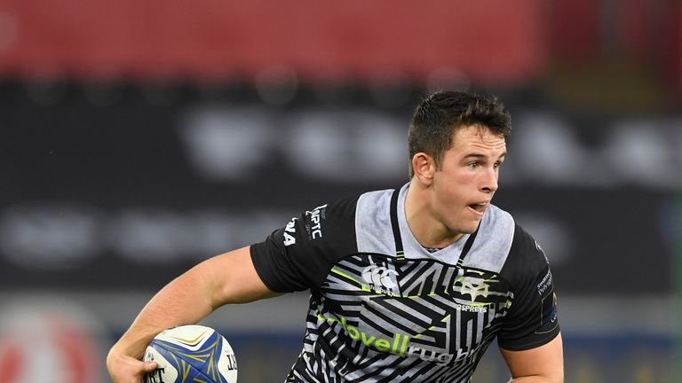Owen Watkin beat a staggering 13 defenders in defeat at Clermont