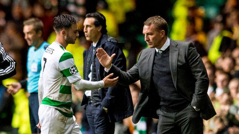Patrick Roberts says Celtic boss Brendan Rodgers is similar to PepGuardiola at Man City