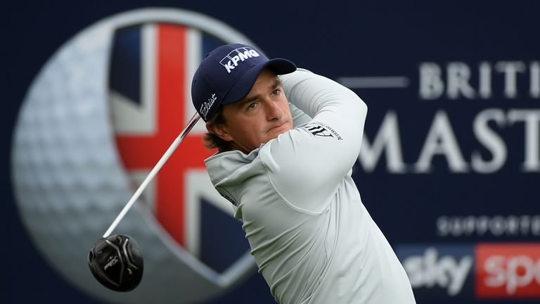 Paul Dunne held his nerve under huge pressure from Rory McIlroy