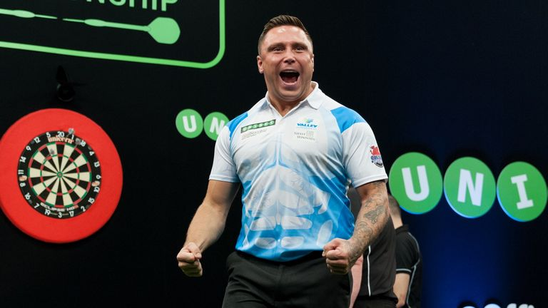 Gerwyn Price produced a stirring fightback (Picture: Kelly Deckers)