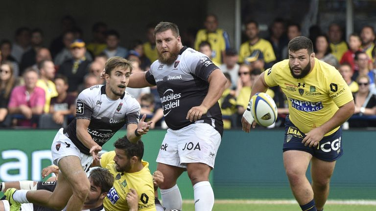 Prop Rabah Slimani was influential for his side in the Top 14