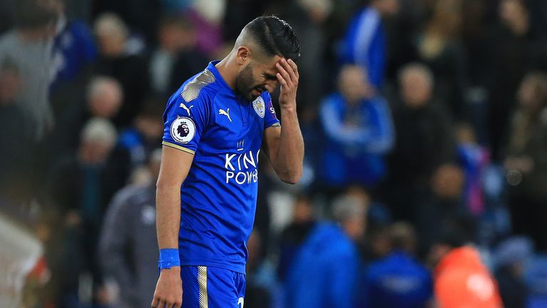 """Riyad Mahrez is """"depressed"""" that a proposed record move to Manchester City was stopped by Leicester, a friend of the winger has told Sky Sports News"""