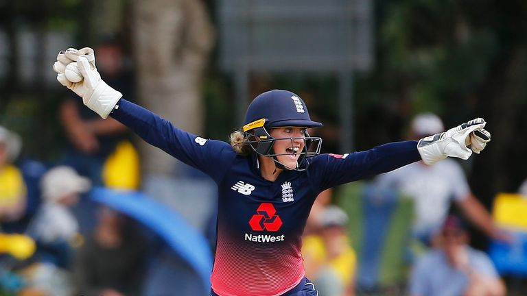 Sarah Taylor is back in England colours following a stress-related illness
