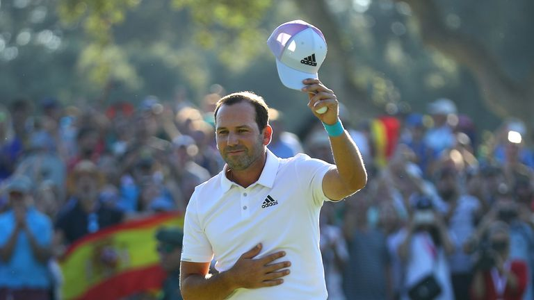 Garcia defied the pressures of being tournament host as he won the Andalucia Valderrama